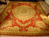 Napoleon III wool carpet gros point