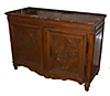 Very fine, French, Regence period buffet de chasse