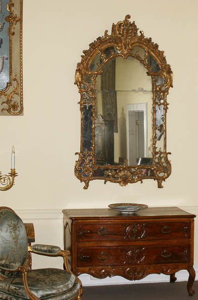 Very Fine, French, Regence period mirror