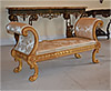 Pair of very fine, Regency, giltwood benches
