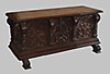 Spanish, Renaissance period walnut caixa