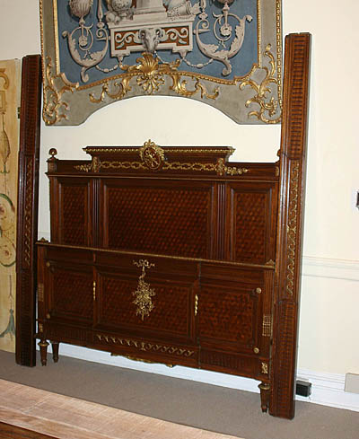 Antique French  on Antique  Fine  French  Louis Xvi Style Bed
