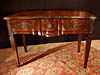 Rare, Louis XVI period table de gibier (hunting table)