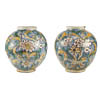 Pair of fine, Italian Maiolica Jars