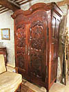 Fine, French, Louis XV period armoire