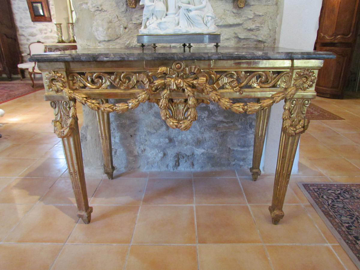 Very fine and Rare French, Louis XVI period console