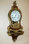 Fine, French, Louis XV period cartel clock