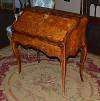Very fine, French, Louis XV period bureau dos d'ane