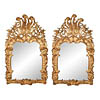 Pair of fine, Spanish Rococo period mirrors