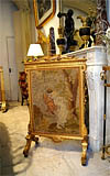 Fine, French, Neoclassical style firescreen